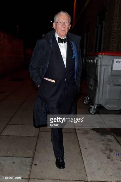 Nick Brewer seen leaving the Boodles Boxing Ball at Old Billingsgate on June 07 2019 in London England