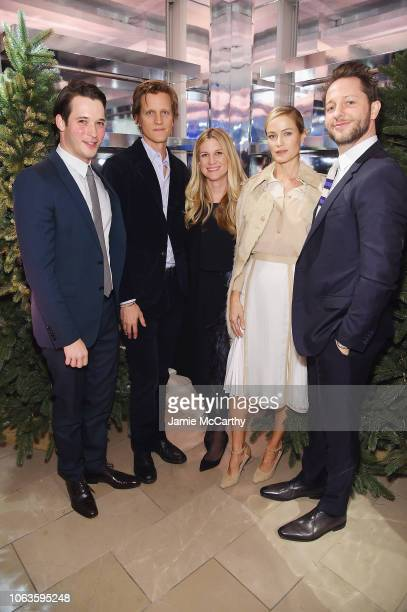 Nick Brown Magnus Berger Kristina O'Neill Carolyn Murphy and Derek Blasberg attend as Naomi Campbell and Matt Smith celebrate 'Close Your Eyes And...