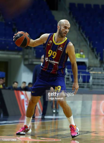 Nick Calathes, #99 of FC Barcelona in action during the 2020/2021 Turkish Airlines EuroLeague Regular Season Round 33 match between Fenerbahce Beko...