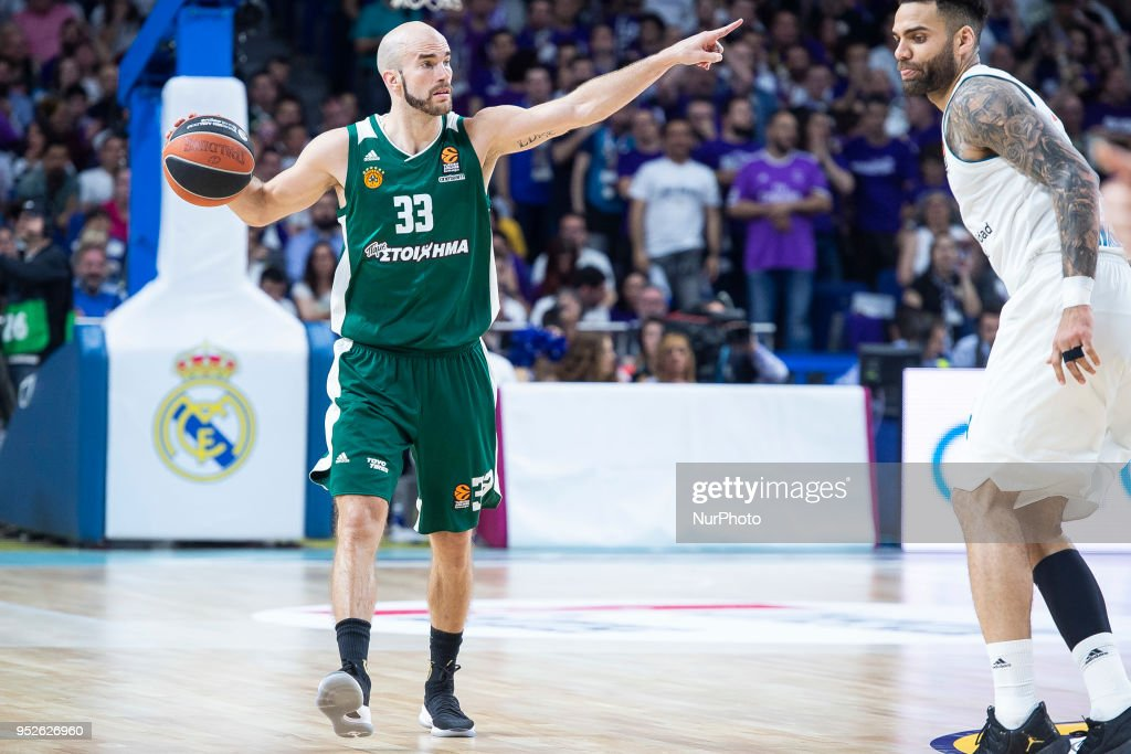 a54c37c00c9 Real Madrid v Panathinaikos Superfoods Athens - Turkish Airlines Euroleague  Play off Game Four : News