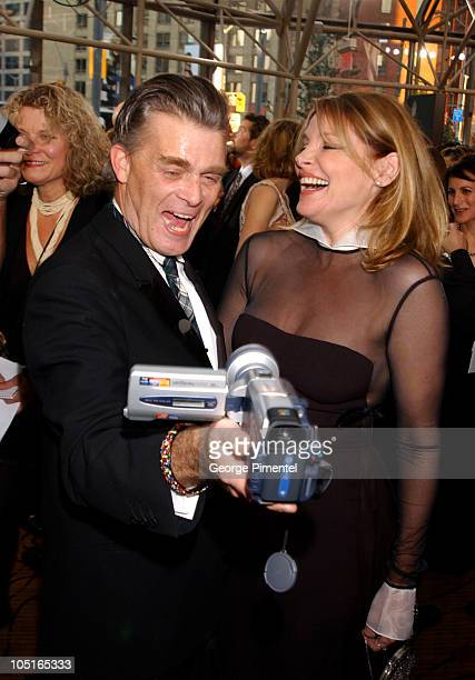 Nick Campbell and Helen Shaver during 2003 18th Annual Gemini Awards Pre Party at Metro Toronto Convention Centre in Toronto Ontario Canada