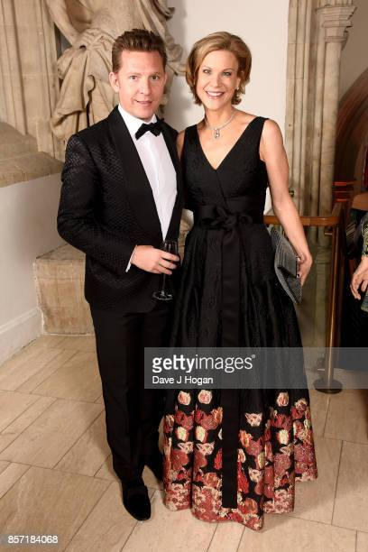 Nick Candy and Amanda Staveley attend the BFI Luminous Fundraising Gala at The Guildhall on October 3 2017 in London England