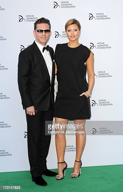 Nick Candy and Holly Valance attend the Novak Djokovic Foundation London gala dinner at The Roundhouse on July 8 2013 in London England