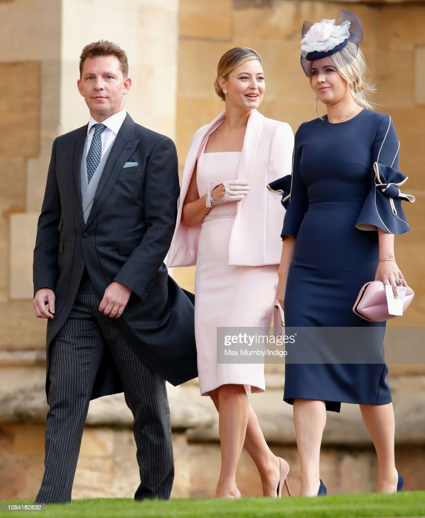 Nick Candy And Holly Valance Attend The Wedding Of