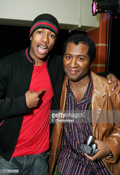 Nick Cannon and Director Malcolm Lee during FoxSearchlight Pictures Present the Los Angeles Premiere of Roll Bounce After Party at The Bridge at...