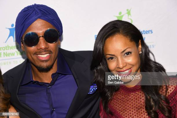 Nick Cannon and guest attend the Big Brothers Big Sisters of NYC annual Casino Jazz Night at Cipriani 42nd Street on June 20 2017 in New York City