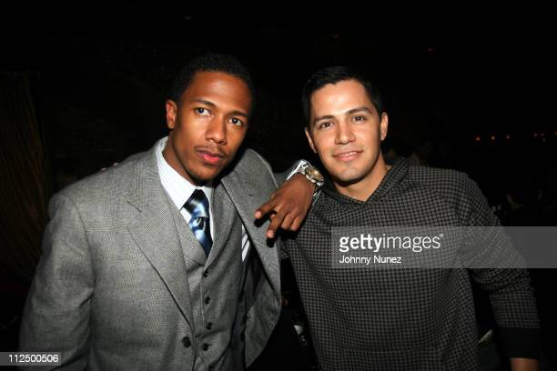 Nick Cannon and Jay Hernandez during TAO's 6th Anniversary Hosted by Nick Cannon at TAO in New York New York United States