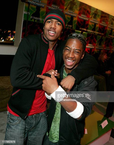 Nick Cannon and Lil JJ during FoxSearchlight Pictures Present the Los Angeles Premiere of Roll Bounce After Party at The Bridge at Howard Hughes...