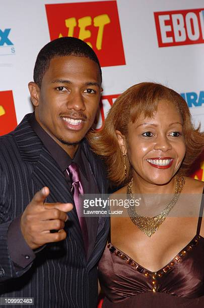 Nick Cannon and mother Beth Hackett during Underclassman New York City Premiere at Chelsea West in New York City New York United States