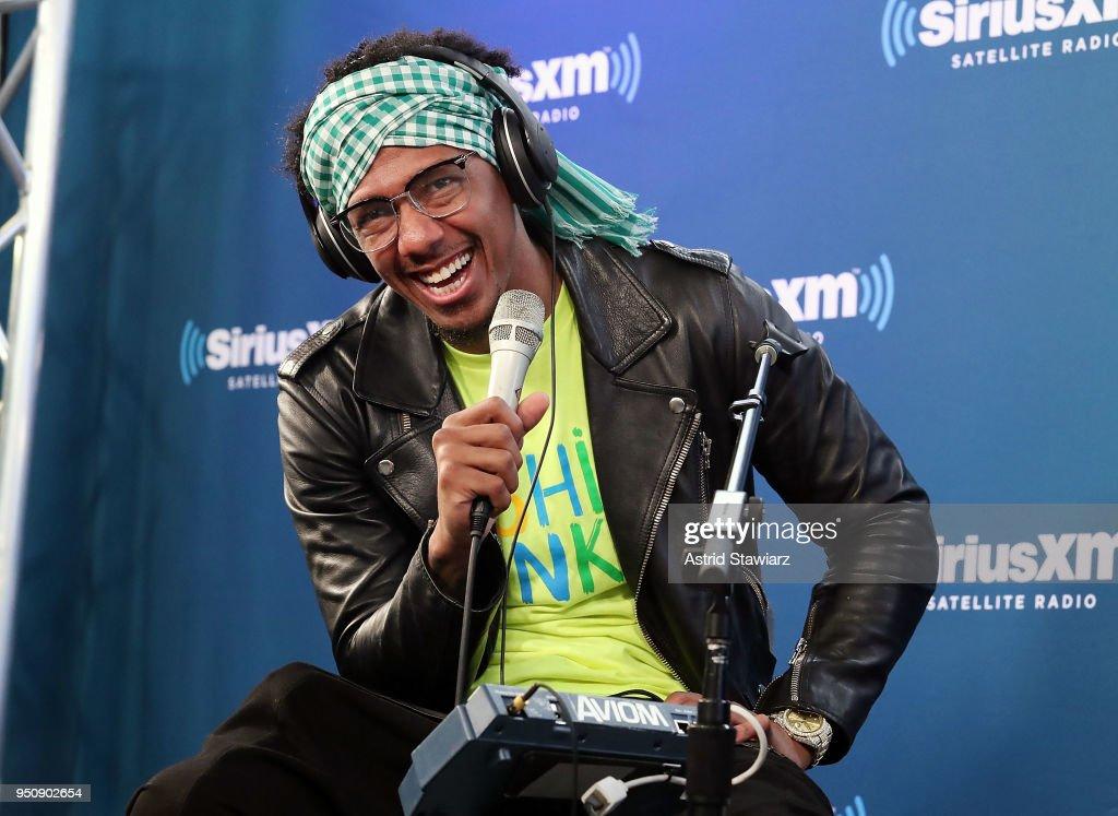 Nick Cannon & Ncredible Gang Perform On SiriusXM's Hip Hop Nation : News Photo