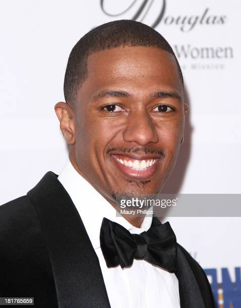 Nick Cannon arrives at The Los Angeles Mission and Anne Douglas Center for Women Gala at Four Seasons Hotel Los Angeles at Beverly Hills on September...