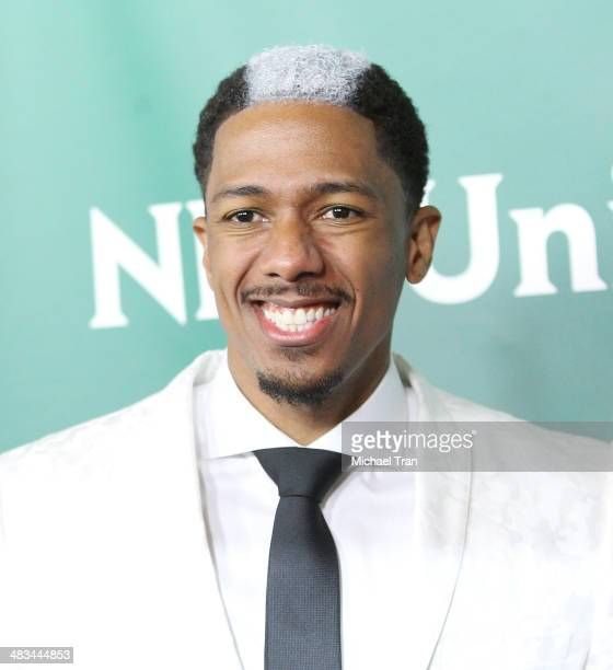 Nick Cannon arrives at the NBCUniversal's 2014 Summer Press Day held at Langham Hotel on April 8, 2014 in Pasadena, California.