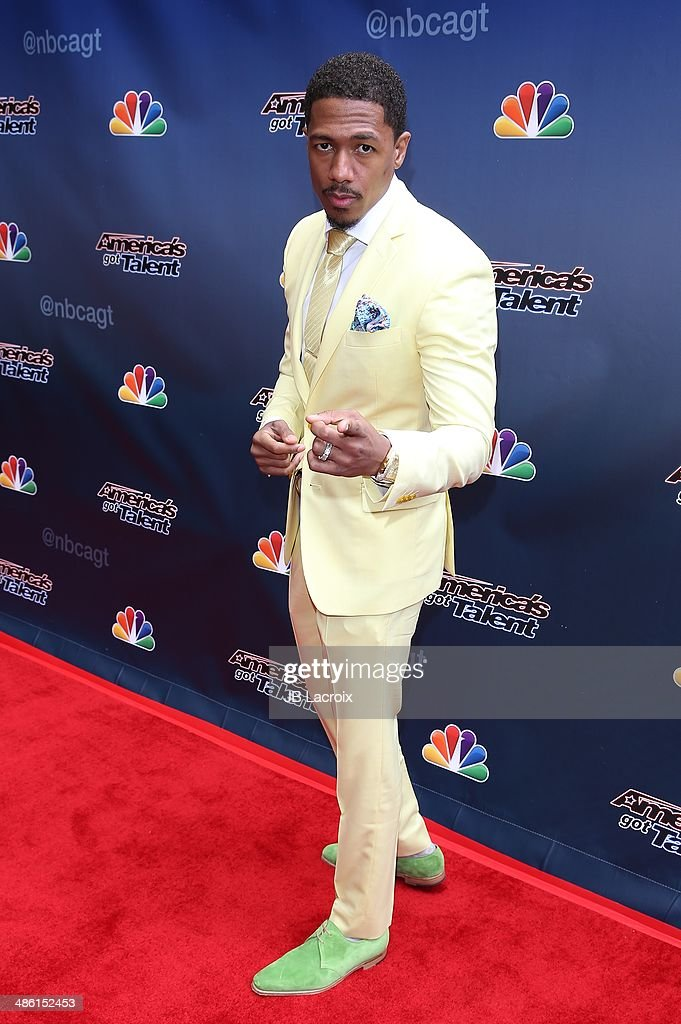 Nick Cannon attends 'America's Got Talent' Red Carpet Event held at the Dolby Theater on April 22, 2014 in Los Angeles, California.