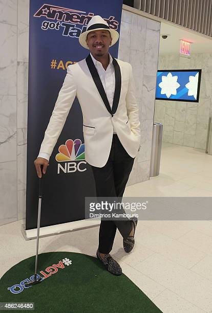 Nick Cannon attends 'America's Got Talent' Season 10 Live Viewing Party on September 2 2015 in New York City