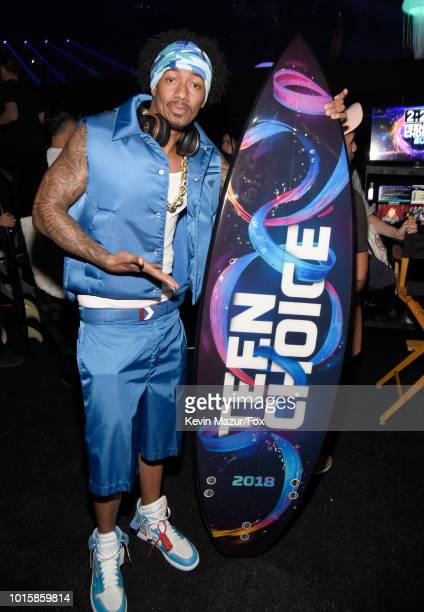 Nick Cannon attends FOX's Teen Choice Awards at The Forum on August 12 2018 in Inglewood California