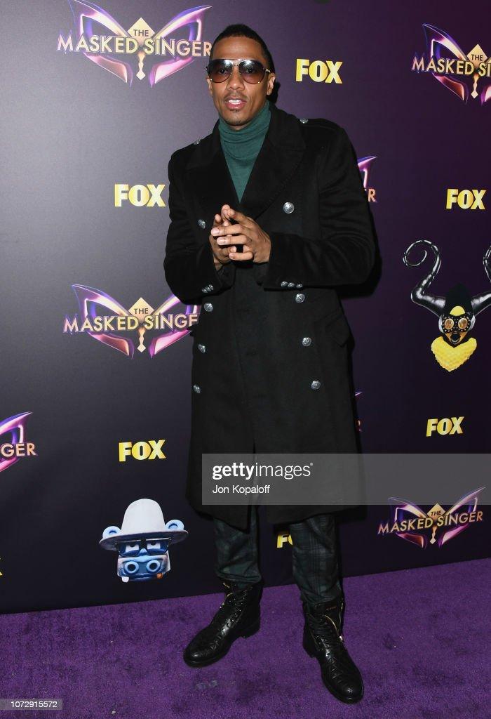 "Fox's ""The Masked Singer"" Premiere Karaoke Event - Arrivals : News Photo"