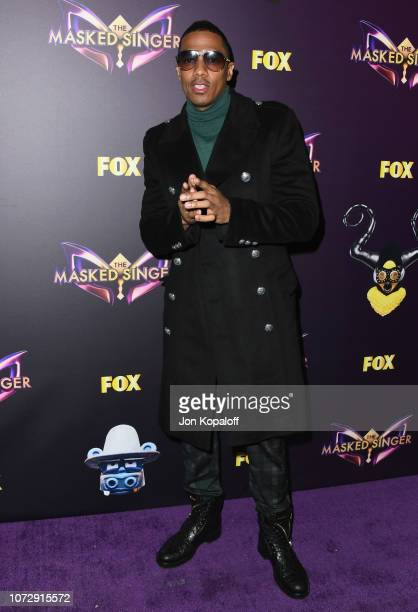 Nick Cannon attends Fox's The Masked Singer Premiere Karaoke Event at The Peppermint Club on December 13 2018 in Los Angeles California