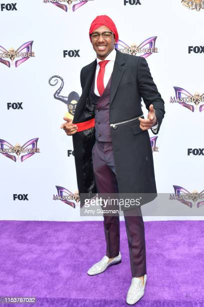 """Nick Cannon attends FYC event for Fox's """"The Masked Singer""""at The Atrium at Westfield Century City on June 04, 2019 in Los Angeles, California."""