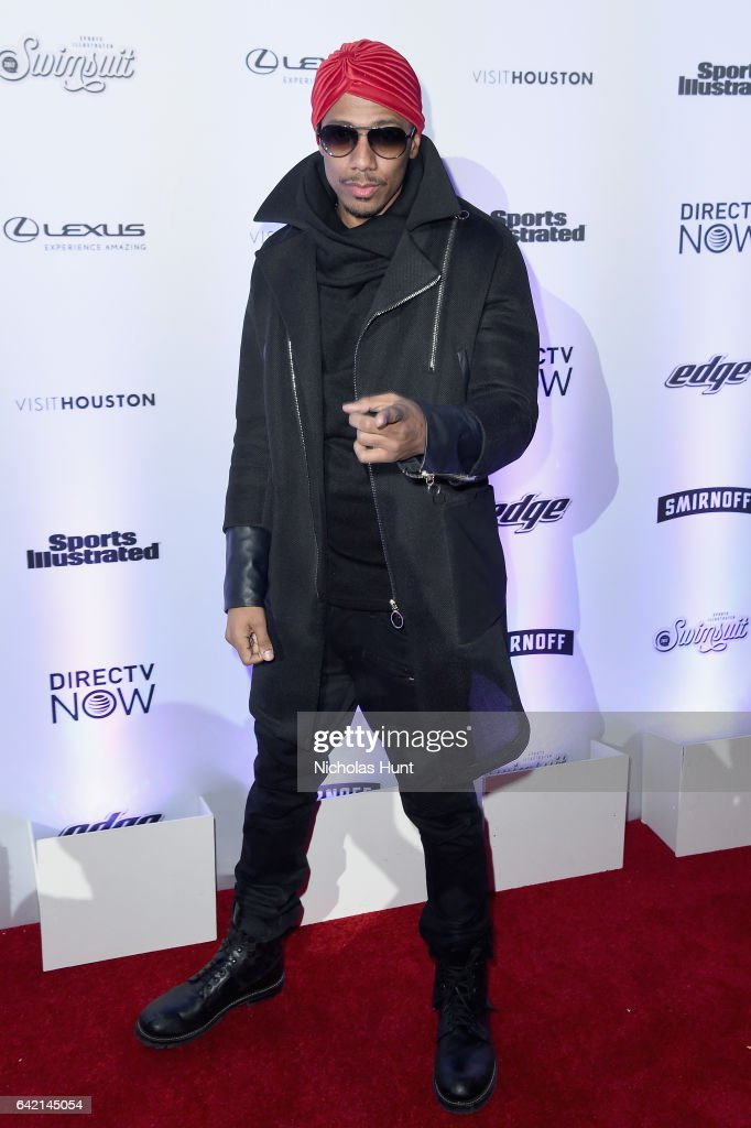 Nick Cannon attends Sports Illustrated Swimsuit 2017 NYC launch event at Center415 Event Space on February 16, 2017 in New York City.