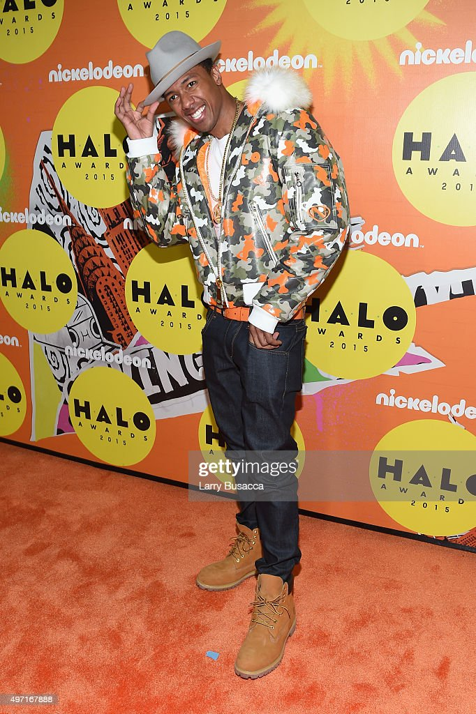 Nick Cannon attends the 2015 Nickelodeon HALO Awards at Pier 36 on November 14, 2015 in New York City.