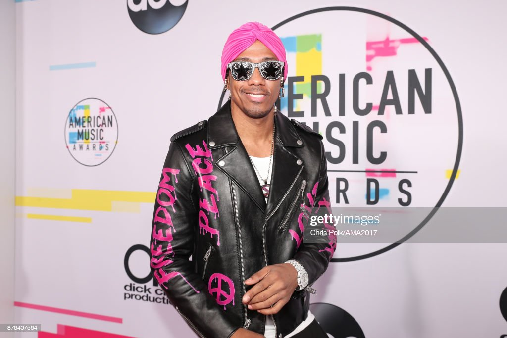 Nick Cannon attends the 2017 American Music Awards at Microsoft Theater on November 19, 2017 in Los Angeles, California.
