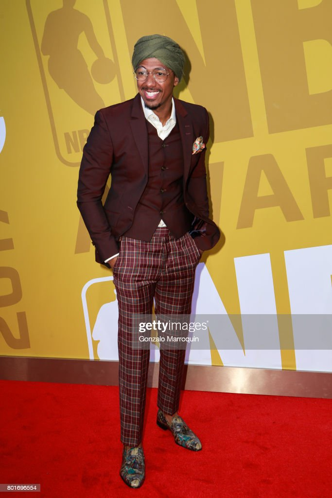 Nick Cannon attends the 2017 NBA Awards at Basketball City - Pier 36 - South Street on June 26, 2017 in New York City.