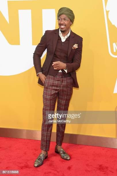 Nick Cannon attends the 2017 NBA Awards live on TNT on June 26 2017 in New York New York 27111_003