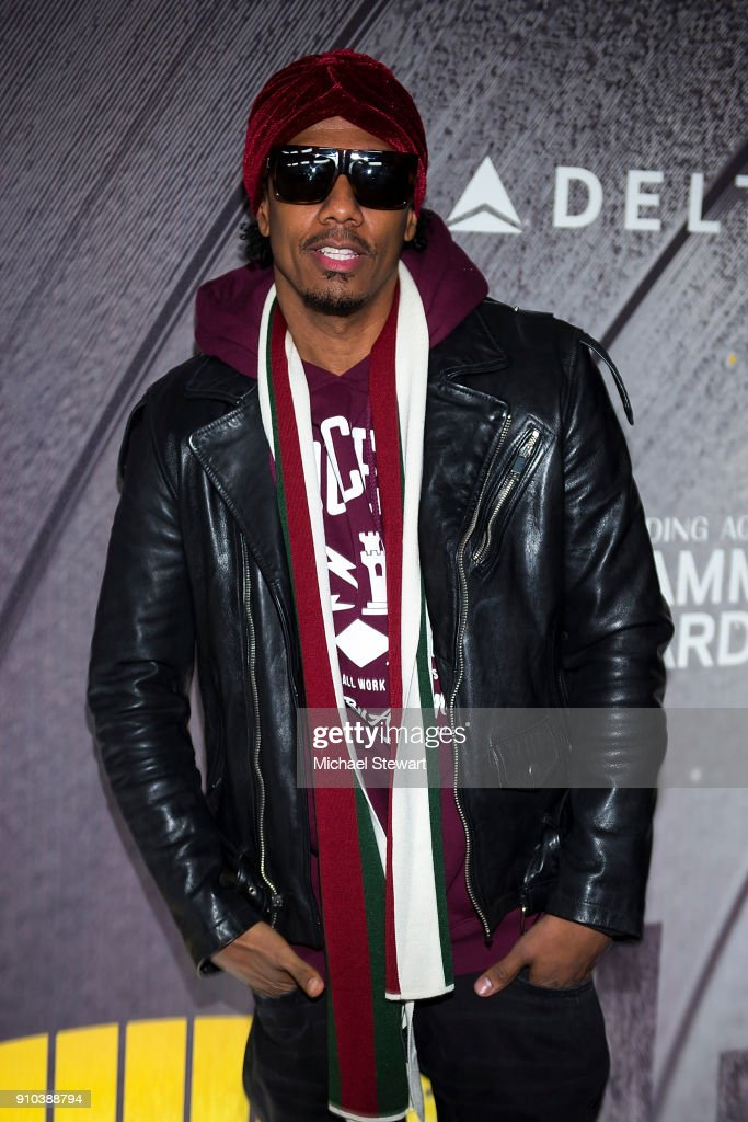 Nick Cannon attends the 2018 Delta Air Lines Grammy weekend celebration at The Bowery Hotel on January 25, 2018 in New York City.