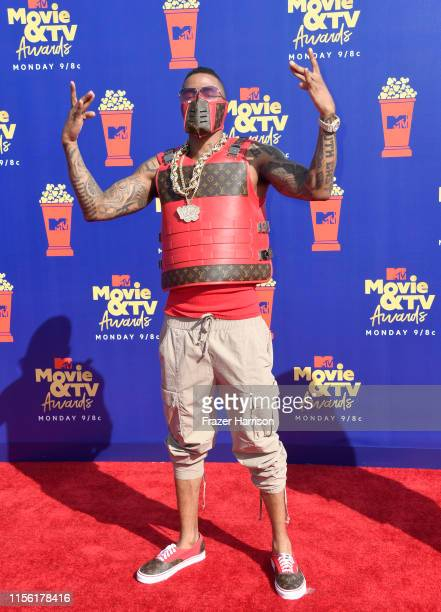 Nick Cannon attends the 2019 MTV Movie and TV Awards at Barker Hangar on June 15 2019 in Santa Monica California