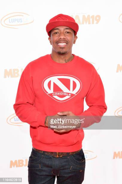 Nick Cannon attends the 3rd annual MBJAM19 presented by Michael B Jordan and Lupus LA at Dave Busters on July 27 2019 in Hollywood California