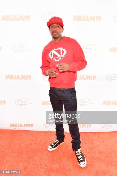 Nick Cannon attends the 3rd annual MBJAM19 presented by Michael B. Jordan and Lupus LA at Dave & Busters on July 27, 2019 in Hollywood, California.