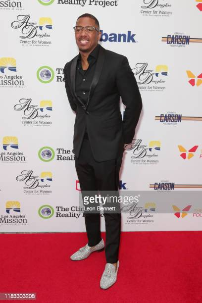 Nick Cannon attends The Los Angeles Mission Legacy Of Vision Gala at The Beverly Hilton Hotel on October 24, 2019 in Beverly Hills, California.
