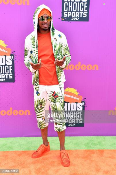 Nick Cannon attends the Nickelodeon Kids' Choice Sports Awards 2017 at Pauley Pavilion on July 13, 2017 in Los Angeles, California.