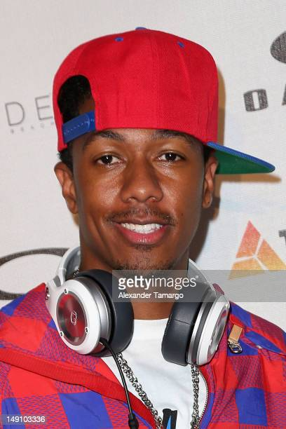 Nick Cannon attends the Oakley 2013 Women's Swim Launch hosted by Trimera Group at SLS Hotel on July 22, 2012 in Miami Beach, Florida.
