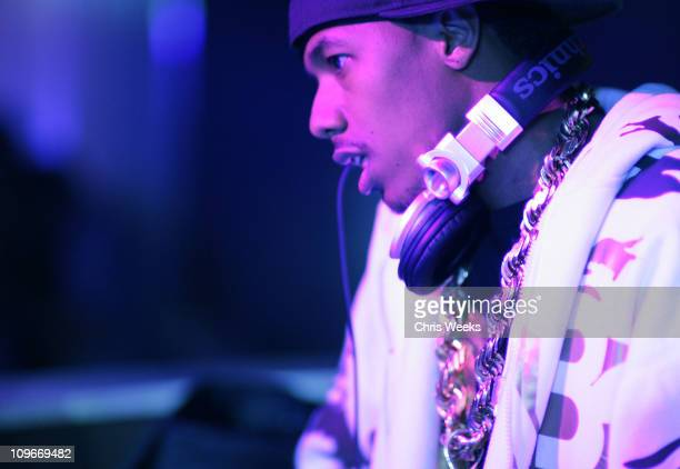 Nick Cannon during MySpacecom and Nick Cannon Host Friday Night at PURE Nightclub in Las Vegas March 31 2007 at Pure Nightclub in Las Vegas Nevada...
