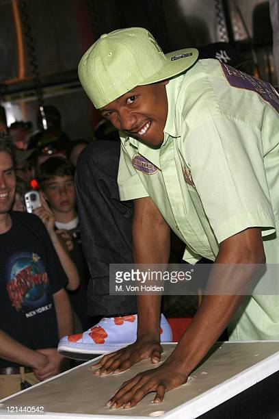 Nick Cannon during Nick Cannon Makes an Appearance for Fans at Planet Hollywood at Planet Hollywood Times Square in Manhattan, New York, United...
