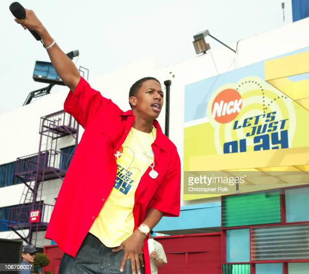 Nick Cannon during Nickelodeon Celebrates Lets Just Play Campaign at Nickelodeon Studios On Sunset in Hollywood CA United States