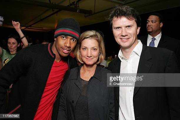 Nick Cannon Fox 2000's Elizabeth Gabler and Fox Searchlight Peter Rice
