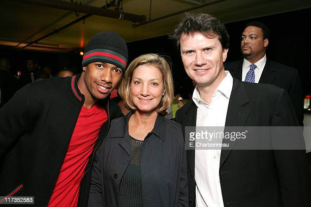 Nick Cannon Fox2000's Elizabeth Gabler and Fox Searchlight Peter Rice