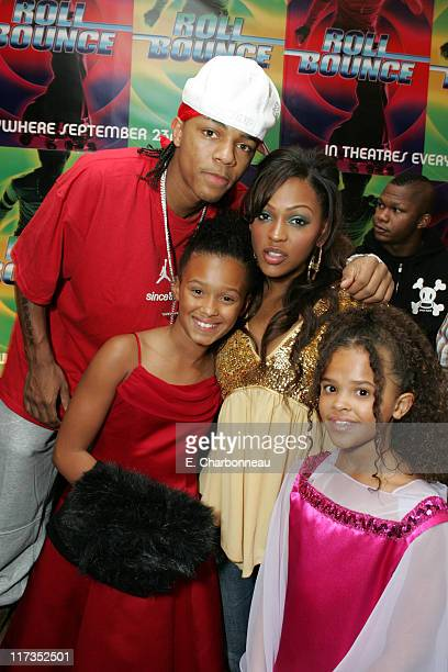 Nick Cannon guest Meagan Good and Busisiwe Irvin