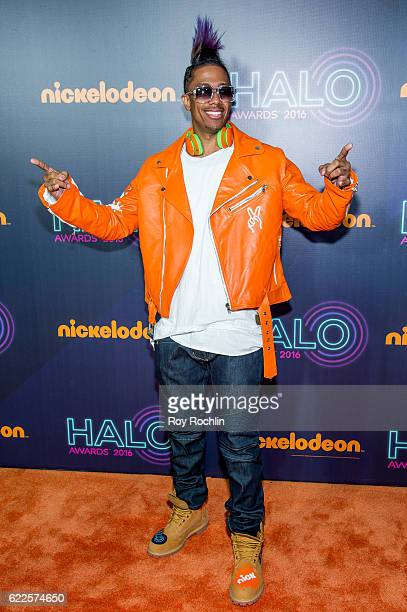 Nick Cannon hosts the Nickelodeon Halo Awards 2016 at Pier 36 on November 11 2016 in New York City