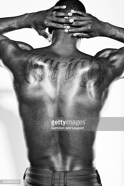 Nick Cannon is photographed for Self Assignment on August 1 2011 in Los Angeles California