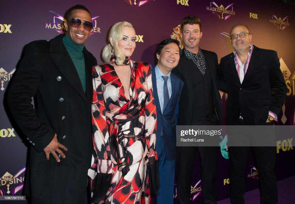 "Fox's ""The Masked Singer"" Premiere Karaoke Event - Red Carpet : News Photo"