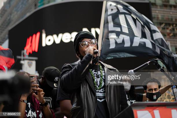 Nick Cannon joined thousands in New York's Times Square for a demonstration organized by Black Lives Matter Greater New York The group announced...