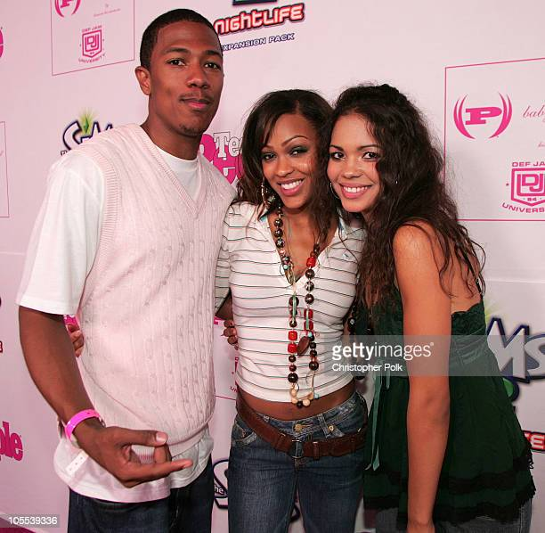Nick Cannon Meagan Good and Jennifer Freeman during Teen People Celebrates Its Second Annual Young Hollywood Issue Inside at The Cabana Club in Los...