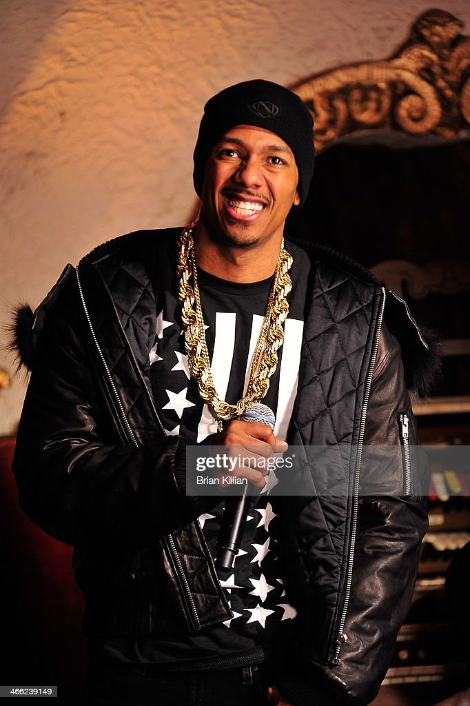 Nick Cannon performs during VH1's 'Super Bowl Blitz: Six Nights + Six Concerts' at St. George Theatre on January 31, 2014 in the Staten Island borough of New York City.