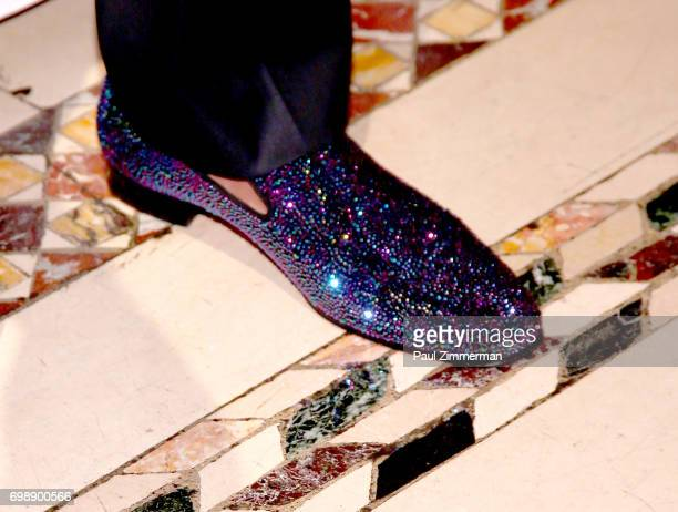 Nick Cannon shoe detail at the 18th Annual Big Brothers Big Sisters Of NYC Casino Jazz Night at Cipriani 42nd Street on June 20 2017 in New York City