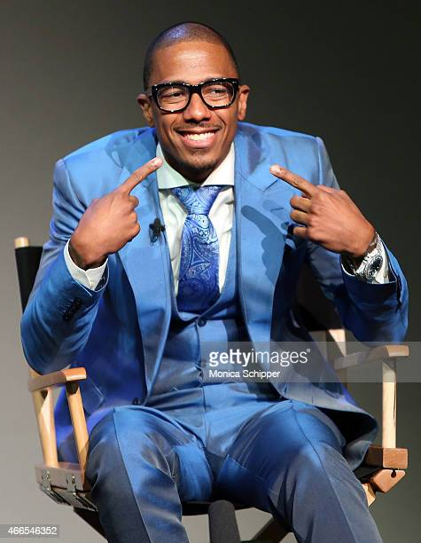 Nick Cannon speaks at Apple Store Soho Presents Meet The Author Nick Cannon 'Neon Aliens Ate My Homework' at Apple Store Soho on March 16 2015 in New...