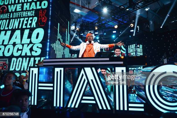 Nick Cannon speaks onstage during the 2017 Nickelodeon HALO Awards at Pier 36 on November 4 2017 in New York City