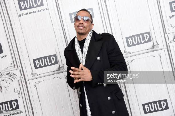 Nick Cannon visits Build Series to discuss the reality show 'The Masked Singer' and his novel 'King of the Dancehall' at Build Studio on December 11...
